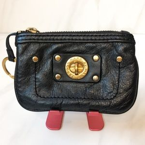 Marc by Marc Jacobs Leather Turn-lock Coin Pouch